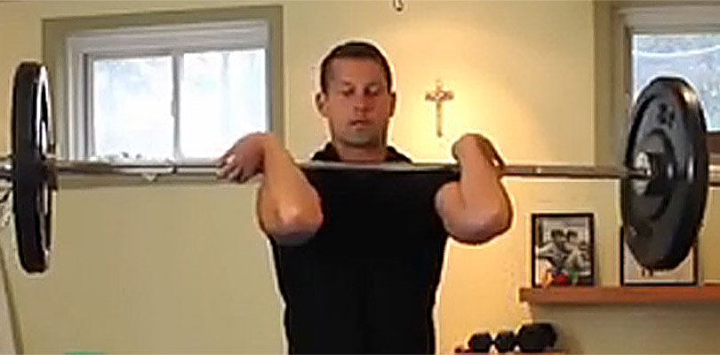 Explosive Exercise for Power, Strength and Fat Loss - The Barbell Clean!